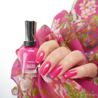 Sally Hansen • Tell My Fuchsia 712 • Complete Salon Manicure • Travel Stories Collection 2017