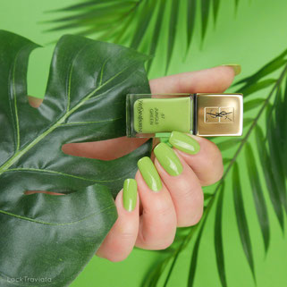 YSL Yves Saint Laurent • JUNGLE GREEN 87 • Jungle Pop Collection summer 2017