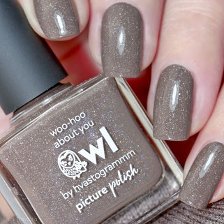 picture polish • owl • Collaboration Shades Collection (by hvastogrammm, new 2019)