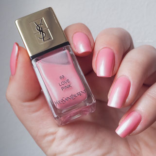swatch YSL LOVE PINK 69 Boho Stones Collection Spring 2016