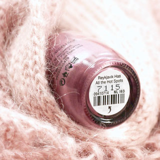 OPI • Reykjavik has All the Hot Spots NL I63 • Iceland Collection • Fall 2017