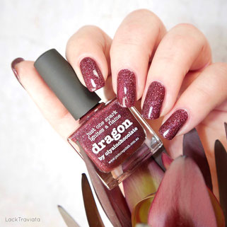 piCture pOlish • dragon • Collaborations fall 2017 • by olyainchocolate