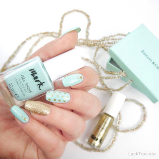 mark. by AVON • MINT TO BE & GOLD
