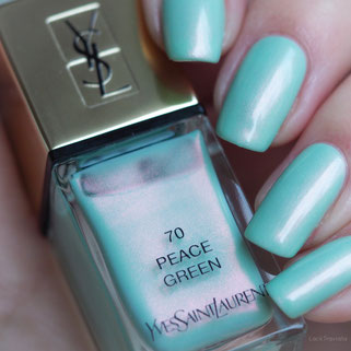 swatch YSL PEACE GREEN 70 Boho Stones Collection Spring 2016