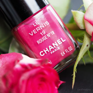 CHANEL • ROUGE N° 19 • Vintage Version