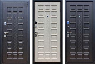 входная дверь с объёмной фрезеровкой