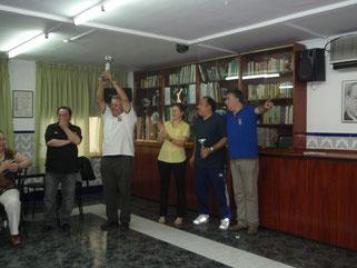 Campeon del cuadarangular Fiestas de Esplugues con C.D.La Solana