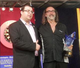Carles Arola Campeón del 4º Catalonia Open Darts