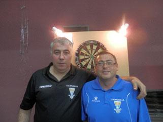 Domingo Lopez y Bienvenido Gomez: 6º clasificados
