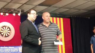 Kevi Simm (ENG) Campeón del F.C.D. Aniversari Open
