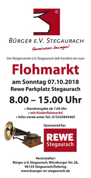 Flohmarkt Rewe Debring Sonntag, 07.10.2018