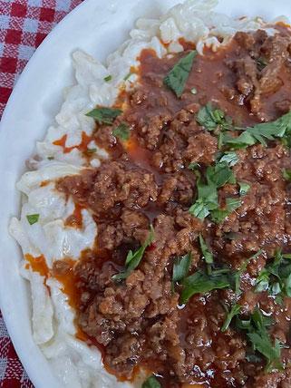 Türkisches Nudelrezept mit Joghurt