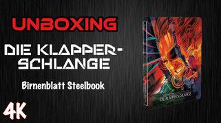 Die Klapperschlange Steelbook Unboxing