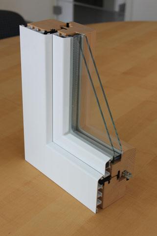 Holzfenster, Fensterbau, Aluminiumfenster