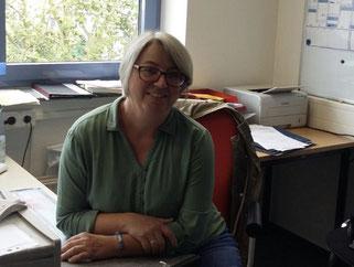 Patricia Strohl, Schatzmeisterin des Fördervereins, Gestaltung, Verwaltung und Buchhaltung des Ganztagsprogramms