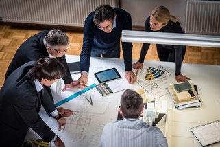Projektentwickler und Bauträger nehmen an ParBuilding teil.