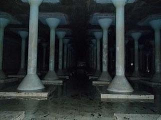 耐震工事前の配水池(岩田地崎建設ホームページより)