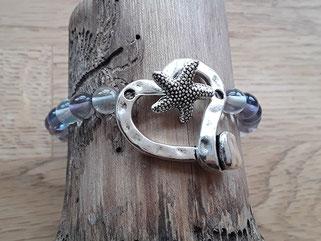 Fluorit Edelstein Armband