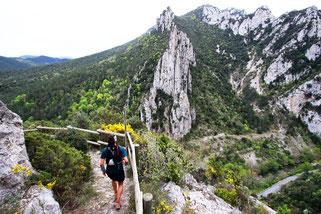Trail Quillan 2016 - Belvédère du Diable - Gorges de l'Aude