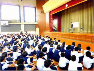 れいめい中学/高等学校にて(2012・5)