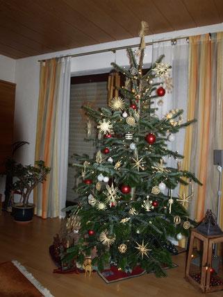 Spitze Für Tannenbaum.Weihnachtsbaum Strohsterne Anke Strohsterne