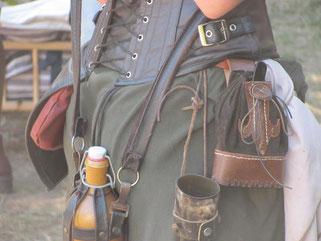 Kostümdetail, Mittelaltermarkt Visby