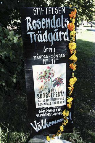 Skördefest in Rosendals Trädgård, Stockholm