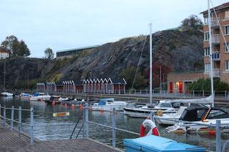 Kleiner Hafen. Eriksberg. Göteborg.
