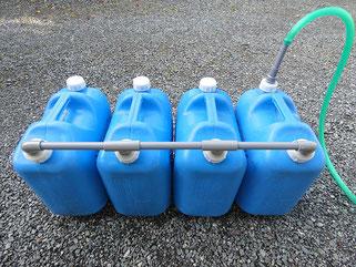 移動販売車の排水にも使える(4本)