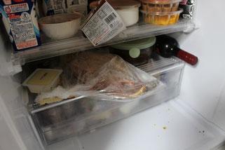 ホッケ冷蔵解凍