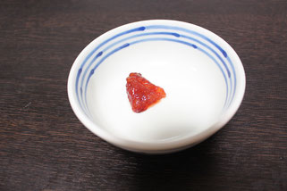 すじこ解凍皿