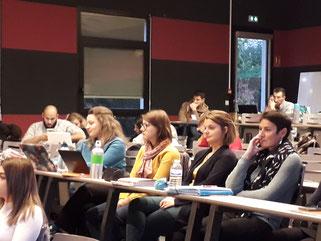 AgiSens organise une partie du module ESS des stagiaires de l'IREIS