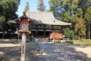 大直禰子(おおたたねこ)神社本殿