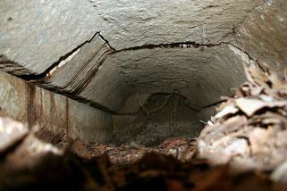 石棺の内部