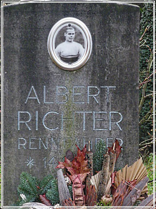 Grabstein Albert Richter