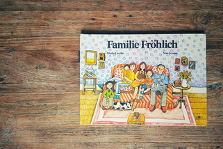 Die Bücher meiner Leute; Familie Fröhlich; Passion Projects; live4happiness2day; bloggingforinspiration