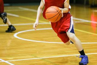 バスケットボールでの膝痛