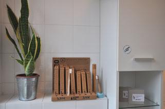 Bambuszahnbürsten und Seife von Hydrophil