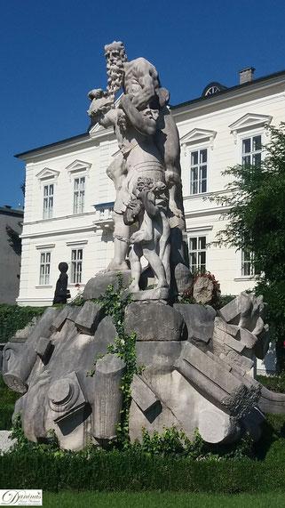 Salzburg Mirabellgarten Figurengruppe