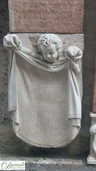 Salzburg St. Peter Gedenktafel