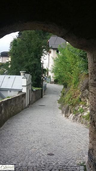 Salzburg: Auf dem romantischen Erhardgässchen zum Stift Nonnberg