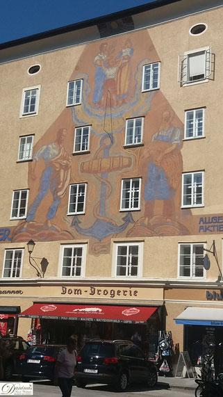 Salzburg Waagplatz Nr. 1 - altes Gerichtsgebäude