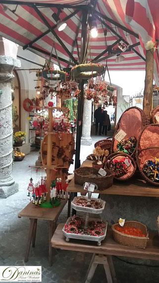 Durchhaus in der Salzburger Getreidegasse