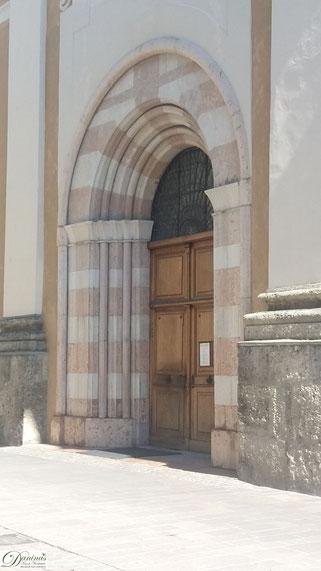 Franziskanergasse Seitenportal von der Franziskanergasse