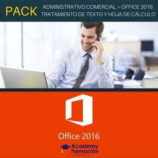 curso de administrativo comercial y office 2016