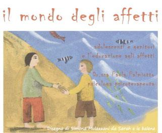 progetto di educazione agli affetti - disegno di un bambino e una bambina che si incontrano
