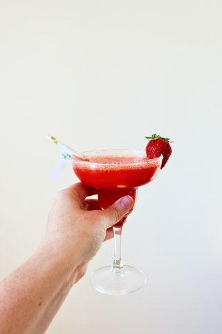 Bild: Rezept für fruchtige frozen Margaritas, jetzt auf www.partystories.de entdecken
