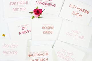 Bild: Valentinstag Geschenk Idee zum selber basteln: DIY Karten als kostenlose Freebie Bastelvorlage zum runterladen für Sie und Ihn