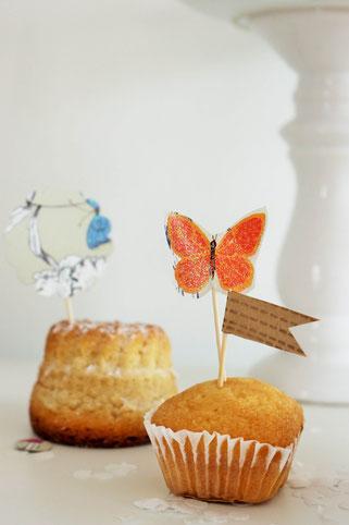 Bild: DIY Party Deko und Dekoration für die Hochzeit mit diesen Ideen aus Geschenkpapier ganz einfach selber basteln; gefunden auf www.partystories.de in Kooperation mit Jung Verpackungen