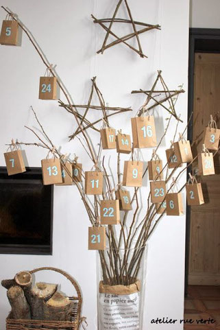 stylische diy adventskalender von pinterest partystories blog. Black Bedroom Furniture Sets. Home Design Ideas